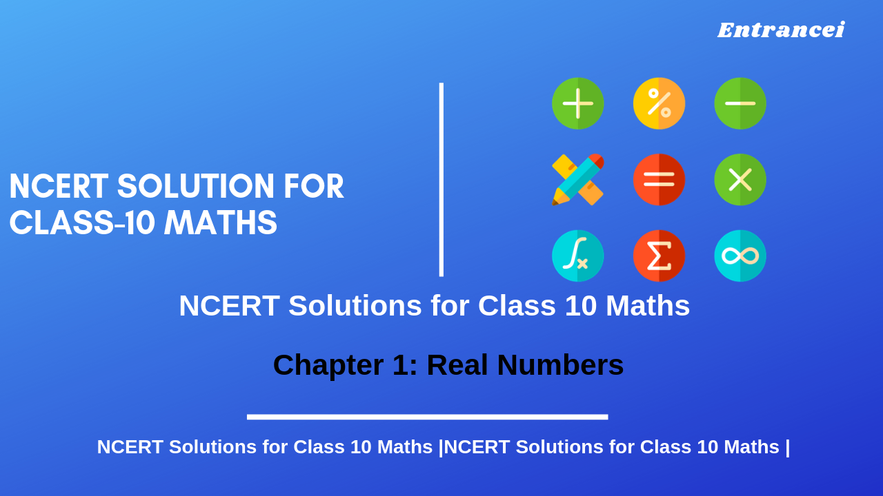 NCERT Solutions for Class 10 Maths chapter 1-Real Numbers