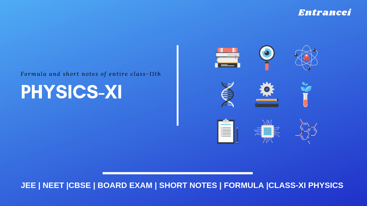 CBSE Physics Class 11 Notes