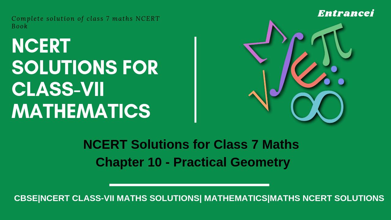NCERT Maths books for class 7 | NCERT solution for class 7