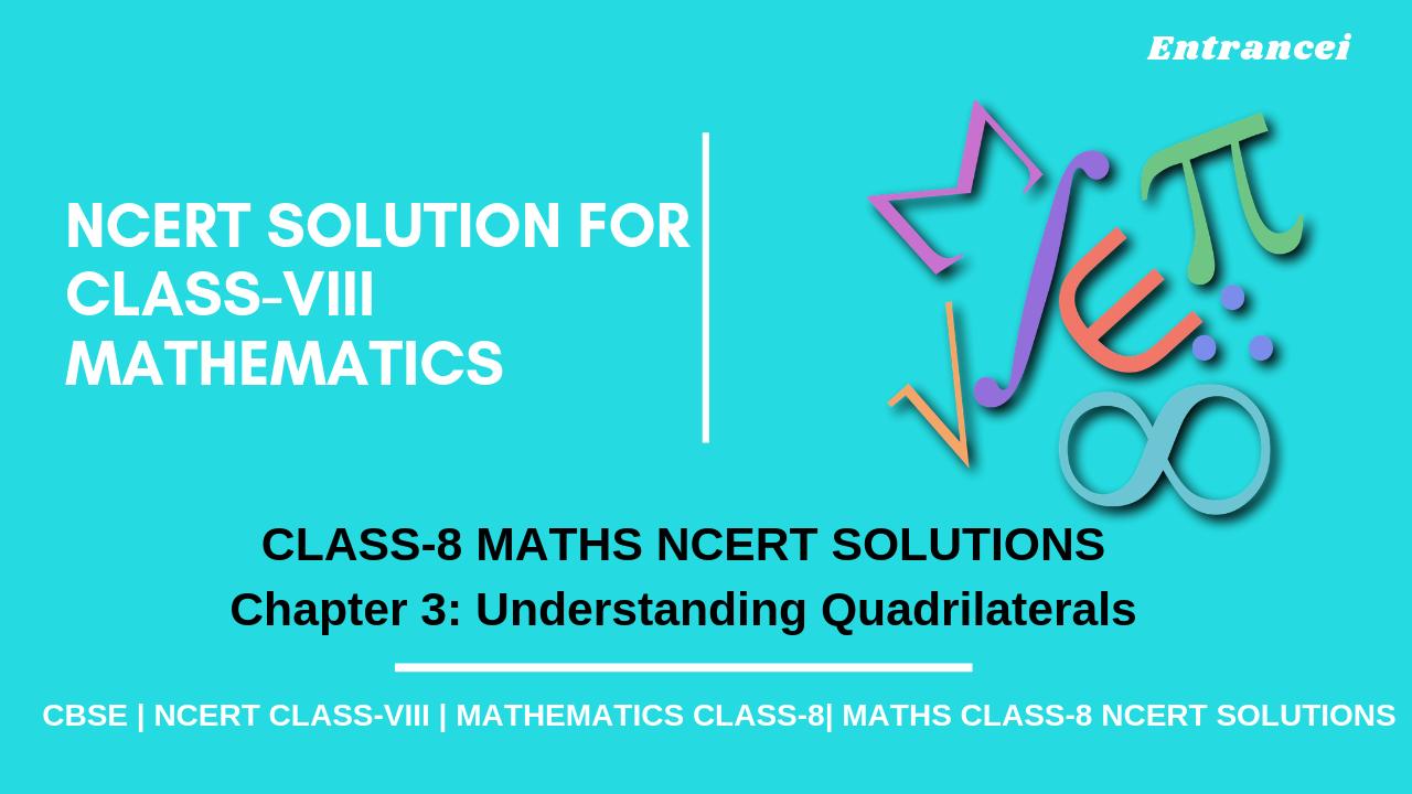 NCERT solutions for Maths class 8 Chapter 3 Understanding