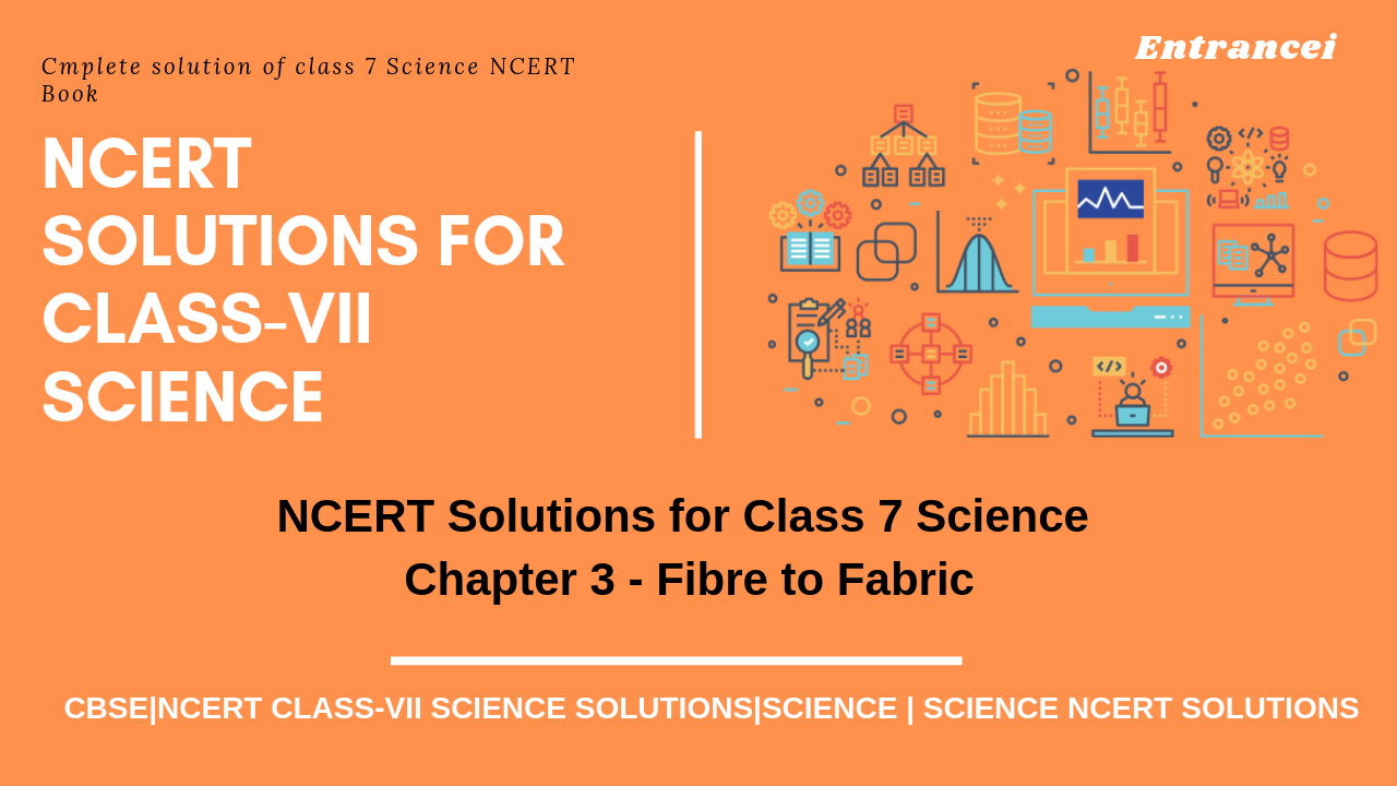 NCERT Solution for Class 7 Science Chapter 3 - Fibre to Fabric