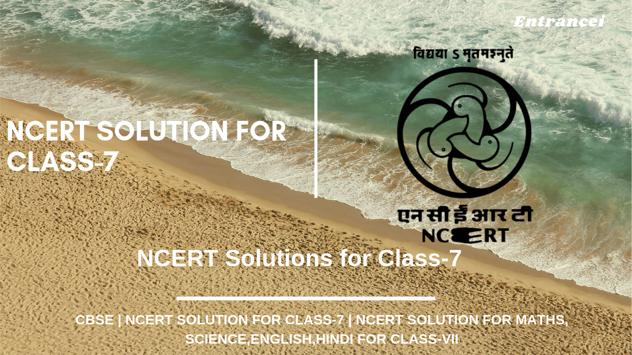 NCERT solutions for class 7 All subjects|Entrancei